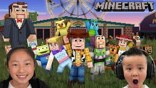 MINECRAFT Toy Story 4 Map Exploring Fun CKN Gaming