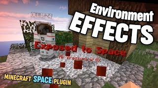 Minecraft Space Plugin: Environment Effects