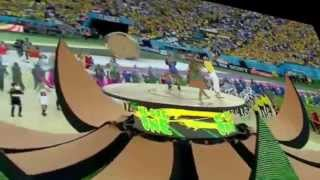 We Are One (Ole Ola) Opening Ceremony Brazil World Cup 2014 | Pitbull & Jennifer Lopez HD