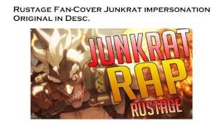 Junkrat Raps Fan Cover [ Rustage Tracer Rap ]