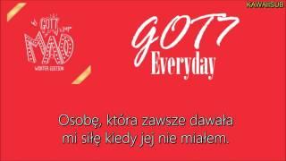 GOT7 - EVERYDAY /KAWAIISUB [polskie napisy, polish subs / PL]