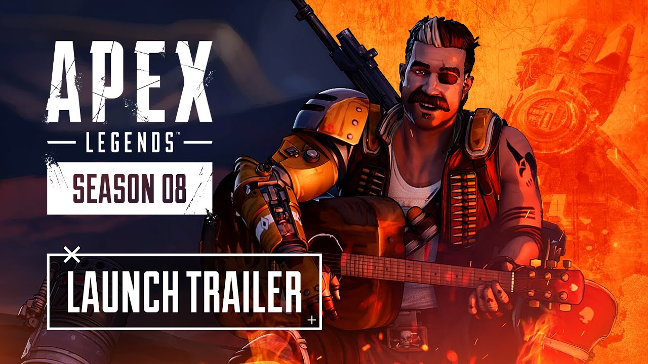 playapex - Apex Legends Season 8 – Mayhem Launch Trailer