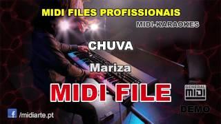 ♬ Midi files Portugueses  - CHUVA  - Mariza