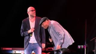 Al Jarreau Mario Biondi Duet  - Umbria Jazz 2014