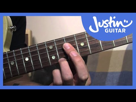 Dominant 7th Chord Grips (Blues Rhythm Guitar - Guitar Lesson BL-205) How to play