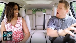 Coming Wednesday: Carpool Karaoke with The First Lady