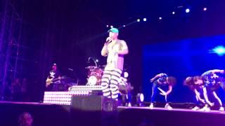 Pharrell Williams - Get Lucky - Milano - Concerto Assago Summer Areno 12 Luglio 2916