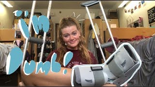 How I Broke My Foot