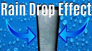DIY   HOW TO SPRAY PAINT RAIN DROPLET EFFECT YETI