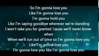 Meghan Trainor - like i'm gonna lose you (Acoustic lyrics)