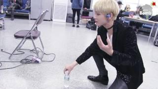 [BANGTAN BOMB] BTS (방탄소년단) V's new game (Feat. a water bottle)