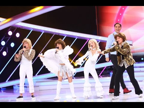 "Trupa Voces, interpreteaza la Next Star melodia ""Mamma mia"" - Abba"