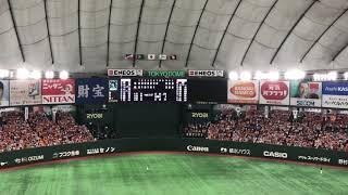 陽岱鋼 登場曲 Slow & Easy - 平井大 2017 9/26 東京ドーム