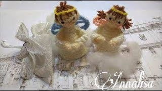 Angeli amigurumi per confettate/Angels for confetti/ ángeles para confettate