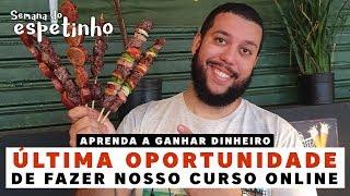 ÚLTIMA CHANCE DE FAZER NOSSO CURSO ONLINE