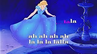 Dal film cartoon Disney Cenerentola - I sogni son desideri (SONG+TESTO SINCRONIZZATO)