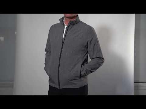 G7S9J049_Full Zip Windbreaker Stretch Jacket
