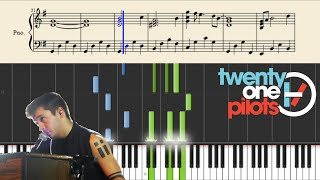 twenty one pilots: Truce (Piano Tutorial + Sheets)