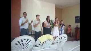 Cercou meu coração - Estréia conjunto IASD Guabiruba Sul