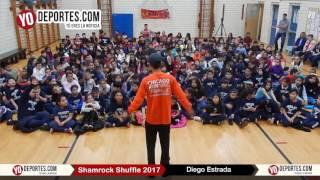 Diego Estrada no se considera favorito en Shamrock Shuffle 2017