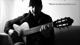 Something - George Harrison - FREE TAB Beatles fingerstyle www.tonyrowden.co.uk