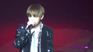170320 BTS The Wings Tour in Brazil Fancam Part 9   Stigma Taehyung solo