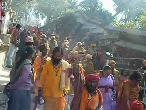 Babas  at Shivaratri 2012  Pashupati Nath Kathmandu
