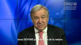 Guterres : «Pour protéger l'humanité, il faut prendre soin de la nature»