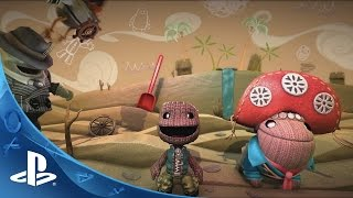 LittleBigPlanet 3 - Community Crafted Launch Trailer | PS4