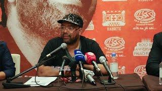 """""""Bolo de Aniversário"""" de Paulo Flores é apresentado á Imprensa em Angola"""