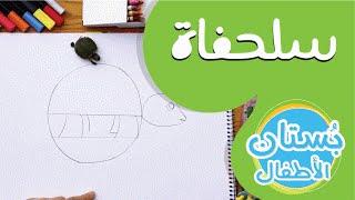 سلسلة رسمة ومعلومة - ح9: كيف أرسم سلحفاة