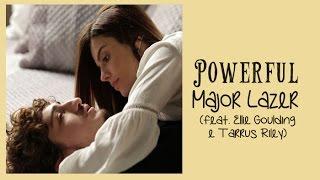 Powerful Major Lazer ft Ellie Goulding Tarrus Riley Tradução A Regra do Jogo Tema de Cesário e Luana