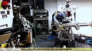 El as de espadas de los metal motor robots
