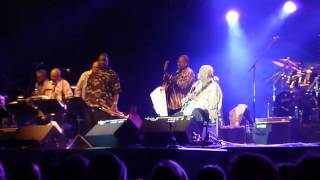 B.B.King. His last performance-The Thrill is gone
