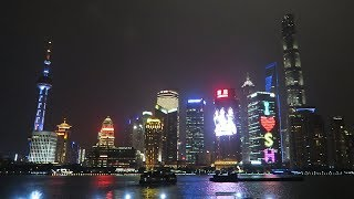 Stunning Shanghai Skyline at Night
