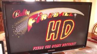 Fireball HD attract screen update