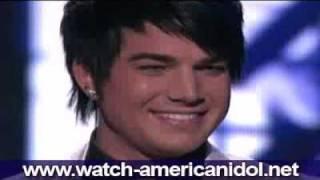 Adam Lambert - Feeling Good (Muse Version) Rat Pack Week Theme American Idol 8 Top 5 April 28 2009