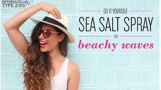 DIY Sea Salt Spray for Wavy Hair | NaturallyCurly.com