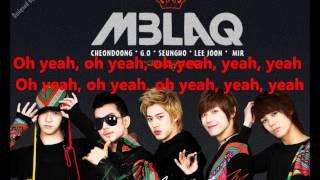 MBLAQ Oh Yeah Lyrics