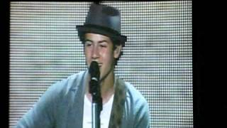 Introducing Me-Nick Jonas live (PNC, NJ 8/17/10)