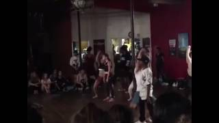 """Big will Simmons ,Taylor Hatala """"never be like you """" Janelle Ginestra choreography"""