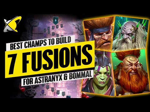 7 FUSIONS WORTH USING AGAINST NEW BOSSES? | Best Champs For Astranyx & Bommal | RAID: Shadow Legends
