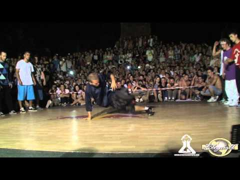 EASTSIDE BBOYS vs RUFFNECK FANATIX Part 1 | CREW BATTLE | YALTA SUMMER JAM 2011