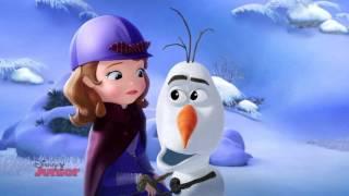 Sofia Întâi: Biblioteca secreta - cu Olaf. Doar la Disney Junior!