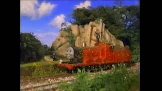 Thomas And The Magic Railroad Junior saves James from Diesel 10 Scene (With Sound Effects)