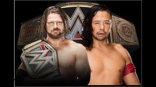 Promo: Wrestlemania 34 WWE CHAMPIONSHIP: Aj styles vs Shinsuke Nakamura