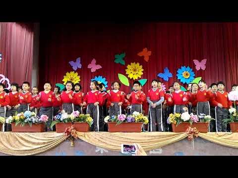 20171222歲末聯歡聖誕英語歌曲表演 - YouTube