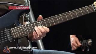 AC/DC Shoot To Thrill Guitar Solo Performance | Guitar Lessons DVD By Danny Gill