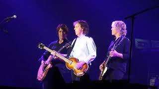 """HAPPY BIRTHDAY"" Paul McCartney; Carrier Dome; Syracuse, NY; 9/23/2017"