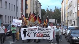 Pegida Demo Gets Raided by 2 Antifascists